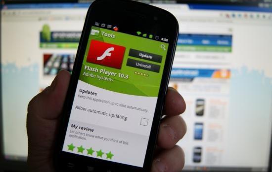 No más flash en Android