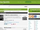 Listas Spotify: escuchar streaming de listas de música previamente armadas