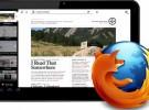 Junior: el navegador de Mozilla para iPad
