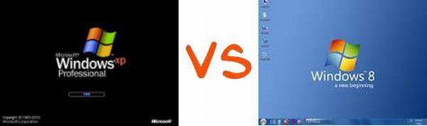 Se podrá actualizar directamente de Windows XP a Windows 8