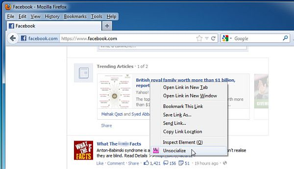 Unsocialize: Facebook y otra manera de proteger tu privacidad
