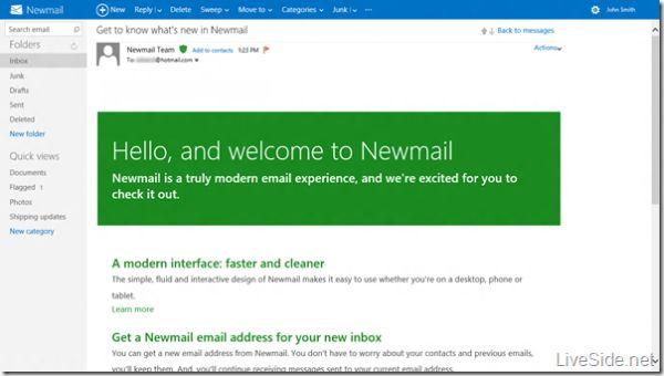 El nuevo Hotmail Metro que prepara Microsoft