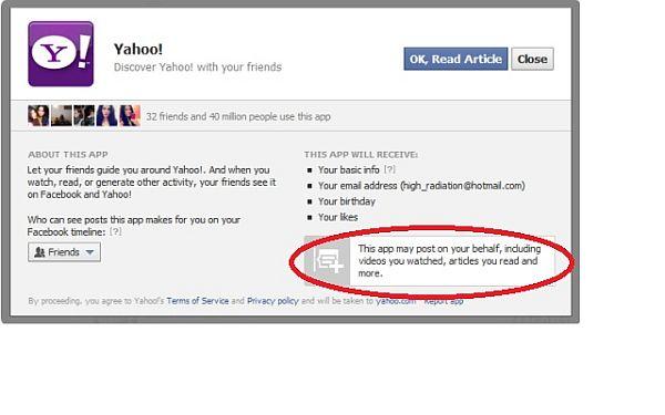 Facebook Open Graph Redirect no instala aplicaciones espías de terceros para Facebook