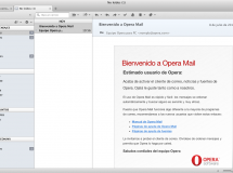 Opera Mail, una verdadera alternativa a Thunderbird