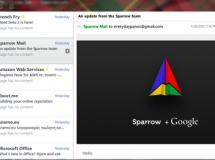 'Sparrow para Windows' nunca fue un cliente oficial, ni estaba a punto de salir