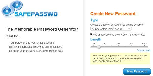 Safepasswd crea contraseñas imposibles de hackear