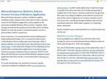 Microsoft Word 2013 tendrá soporte para editar y crear PDF
