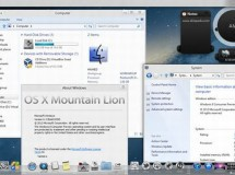 Transforma Windows 8 en Mac OS X Mountain Lion