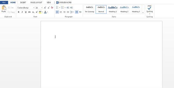 Office Web Apps en SkyDrive pone a la nueva versión de Office en la Nube