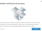 Así se habilita la verificación en dos pasos que Dropbox acaba de implementar