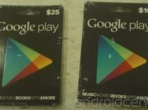 Parece que se podrán usar 'tarjetas regalo' para comprar aplicaciones en Google Play