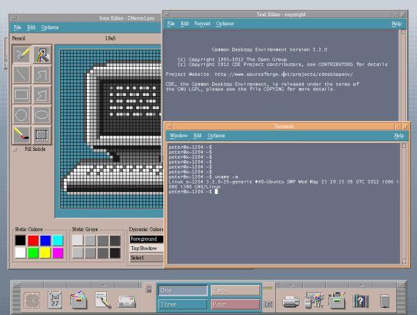 El Common Desktop Environment (CDE) vuelve después de casi 20 años