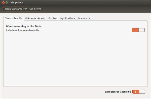 Canonical incluira una manera de desactivar las búsquedas de Amazon
