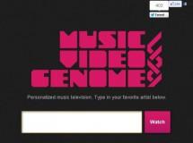 Music Video Genome crea canales personalizados de vídeos
