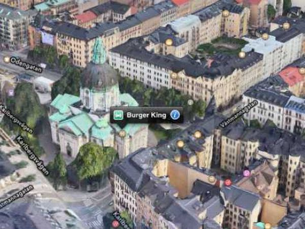 Apple contratará a nuevo equipo de desarrolladores para corregir los mapas de iOS6