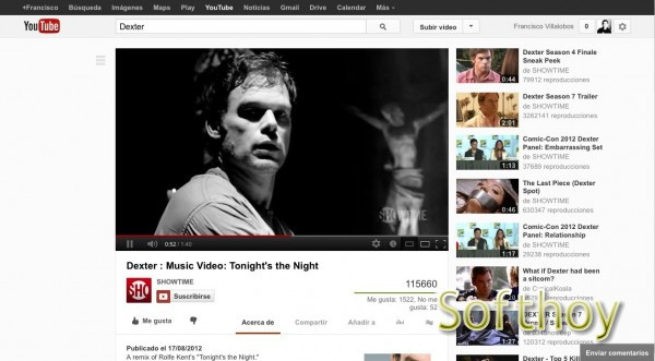 Prueba el nuevo diseño de YouTube en tu navegador