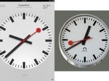 Apple es demandada por copiar el reloj que usan los ferrocarriles en Suiza