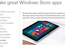 Windows 8: las Metro apps ahora se llamarán Windows Store apps