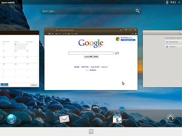 WebOS regresa sobre la base Ubuntu