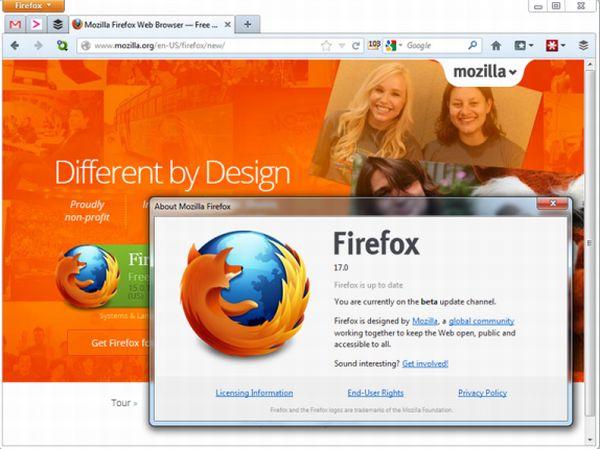 Firefox 17 bloqueará automáticamente complementos antiguos y vulnerables