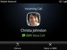 BlackBerry Messenger ahora permitirá realizar llamadas gratuitas