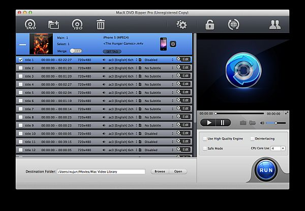 El MacX DVD Ripper Pro v4.0.0 para Mac gratis hasta el 30 de noviembre