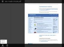 Adobe Reader para Windows 8 ya está disponible