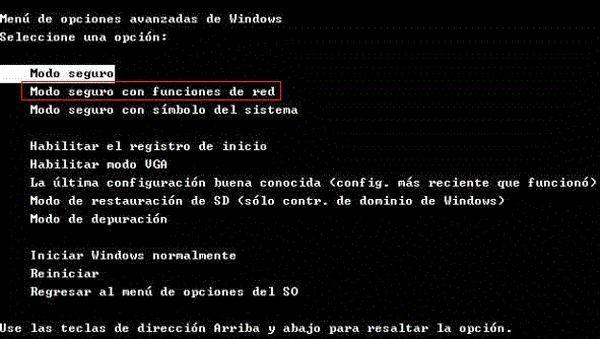 Habilitar la impresión o el Windows Installer en Modo Seguro