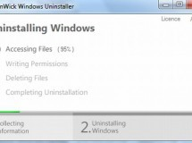 NanWick Windows Uninstaller te ayuda a desinstalar Windows