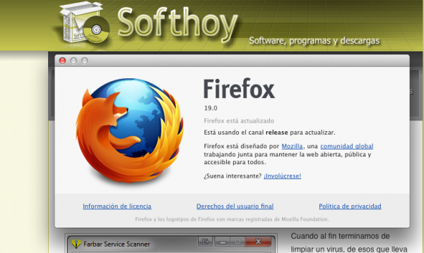 Firefox 19 ya está disponible