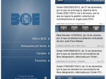 El Boletín Oficial del Estado (BOE) estrena aplicaciones móviles