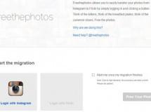 Freethephotos ofrece un servicio gratuito de migración de fotos de Instagram a Flickr