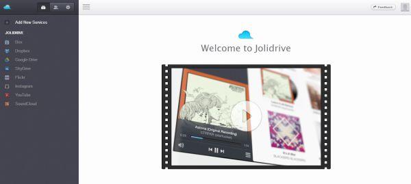 Jolidrive es el servicio de archivos y enlaces en línea de Jolicloud