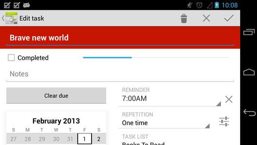 Calendar++ Free, tu planificador en Android