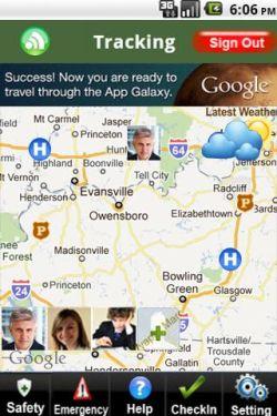 Rapid Tracker es una aplicación para el seguimiento de familiares o menores
