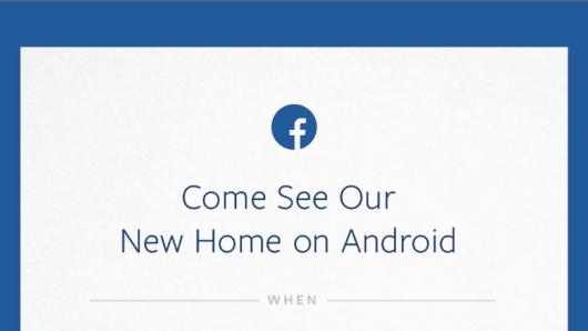 El fracaso de Facebook Home