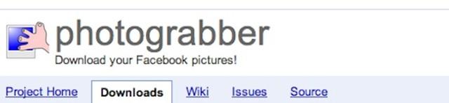 Extrae las fotos de Facebook donde apareces con Photograbber