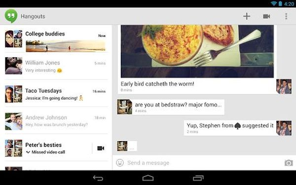 El futuro de Google Voice son los Hangouts y nada más
