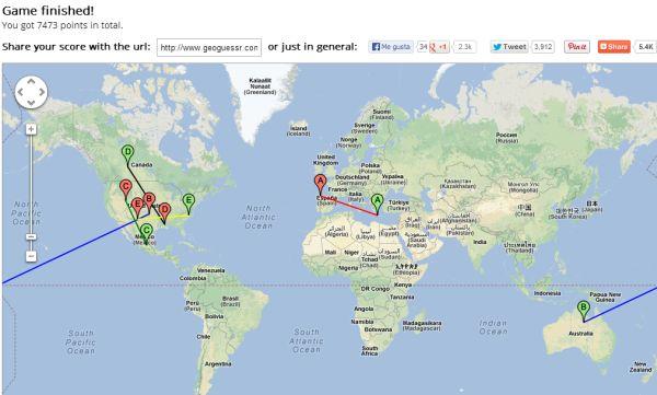 GeoGuessr: juega a adivinar en qué lugar te encuentras con StreetView