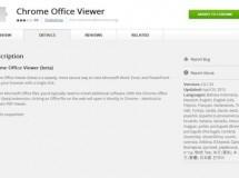 Con Chrome también podrás abrir documentos de Office