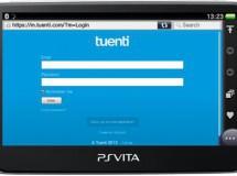 Ya se puede entrar a Tuenti desde el PS Vita
