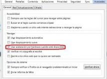 Deshabilitar la aceleración por hardware en Firefox