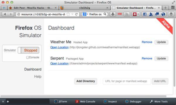 Firefox OS: ya puedes probarlo en un PC