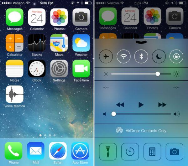 iOS 7 Beta logra cautivar a los usuarios de Apple