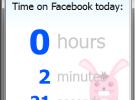 TimeRabbit te ayuda a medir el tiempo que pasas en Facebook