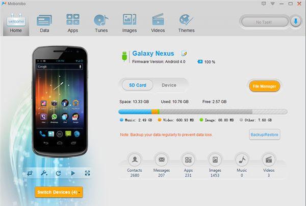 Moborobo: el mejor programa para gestionar teléfonos Android e iOS desde el PC