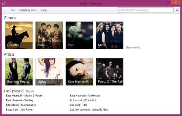 Songr2: la segunda parte del programa de descargas de música