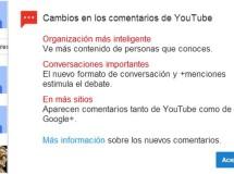 Los nuevos cambios en los comentarios de YouTube no han gustado