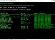 Windows Licence Key Dump encuentra por ti los números de serie de los programas instalados