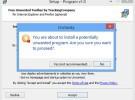 Uncheky evita que instales adware junto con los programas